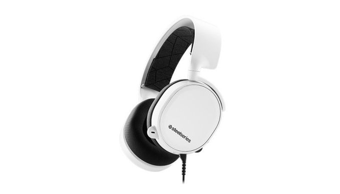 SteelSeries ARCTIS 3 All-Platform Gaming Headset for PC, PlayStation, Xbox,  Nintendo Switch, VR, Android and iOS - White (2019 Edition)
