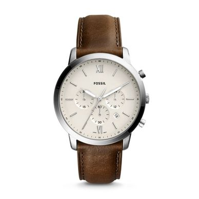 a06233423 Fossil Designer Men's Watches, Neutra Chronograph Brown Leather Men's Watch -Price-Comparison-