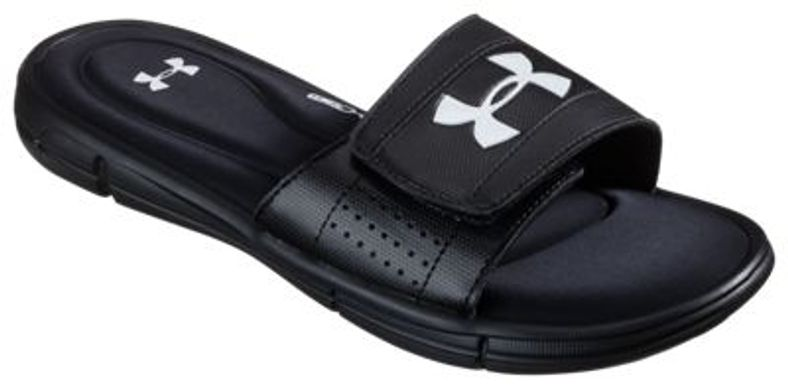 3c131950f6f Under Armour Men s Ignite V Sports Slides (Black White